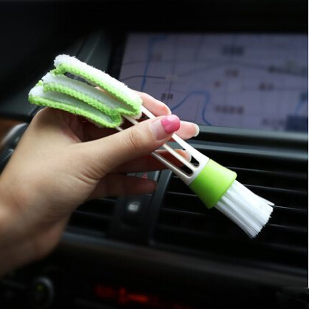 Car Care Multifunction Cleaning Brush For Lada Vesta Granta 1300 Niva Samara Signet Priora Kalina Safarl Largus Vaz Xray 2110-12 Relieving Heat And Thirst. Exterior Accessories