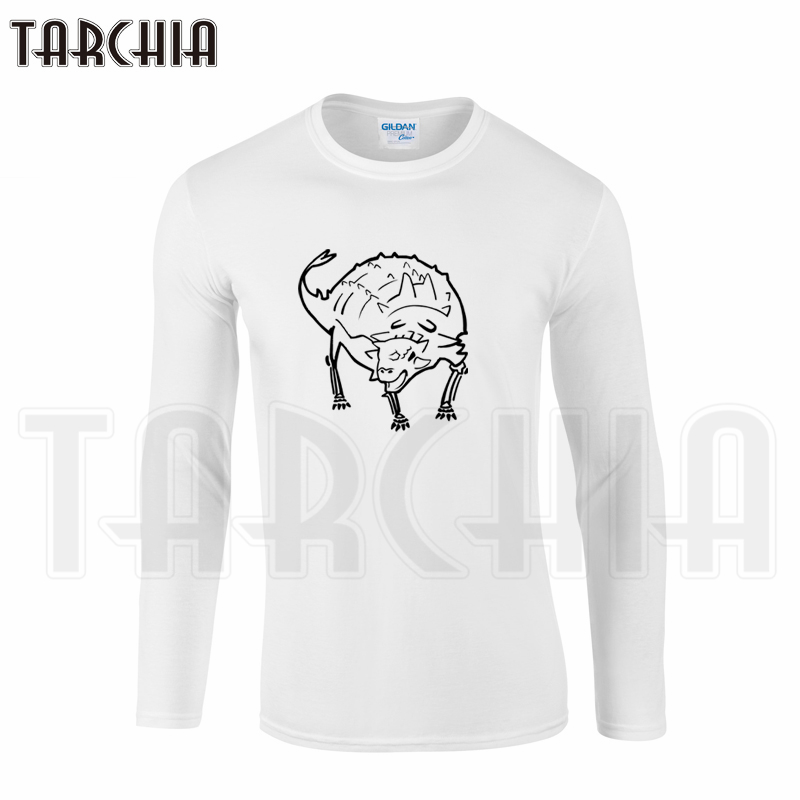 TARCHIA Brand 2018 New Arrival Free Shipping Cheap Men Clothing Tee Long Sleeve T-Shirt Cotton Plus Boy Homme Women Wear Limit