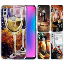 Wine Tasting Case for Samsung Galaxy S10 5G S10e S9 S8 M30 M20 M10 J4 J6 Plus J8 2018 Note 8 9 Hard PC Phone Cover Coque Fundas(China)
