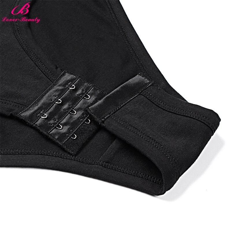 24c915759d9 Lover Beauty Breathable Bodysuit Female Long Sleeves Shaper Trim Body  Shapewear Lingerie Hooks Basic Tummy Control Clothing-in Bodysuits from  Underwear ...