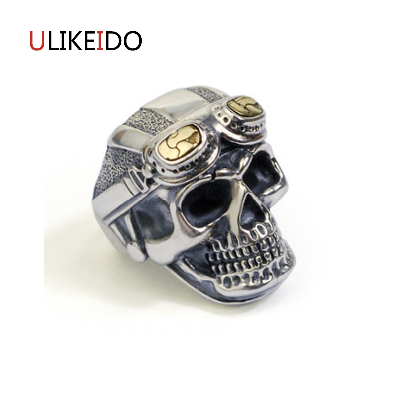 100% Pure 925 Sterling Silver Jewelry Skeleton Rings Wide Version Men Signet Ring For Women Special Christmas Gift 1124100% Pure 925 Sterling Silver Jewelry Skeleton Rings Wide Version Men Signet Ring For Women Special Christmas Gift 1124