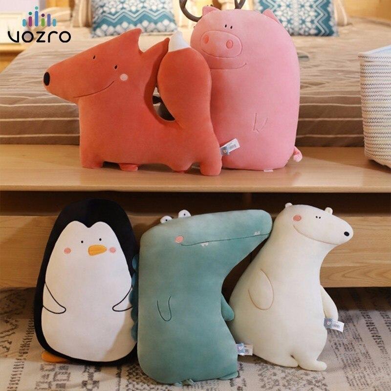Vozro animal dos desenhos animados decorativa coussin salão de beleza enfada cojines almofadas para sofá decorativo lance almofadas overwatch