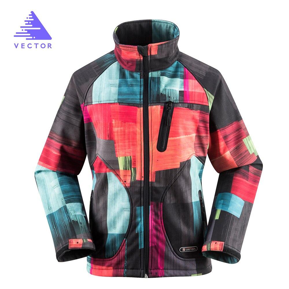 VECTOR Softshell Jacket Women Windproof Waterproof Outdoor Jacket Rain Climbing Camping Hiking Jackets Outdoor 60015