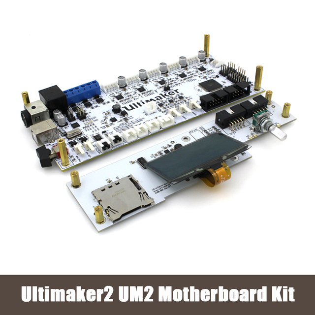 3D printer DIY Ultimaker V2.1.1 motherboard kit UM2 interface board+display LCD controller 3D0144