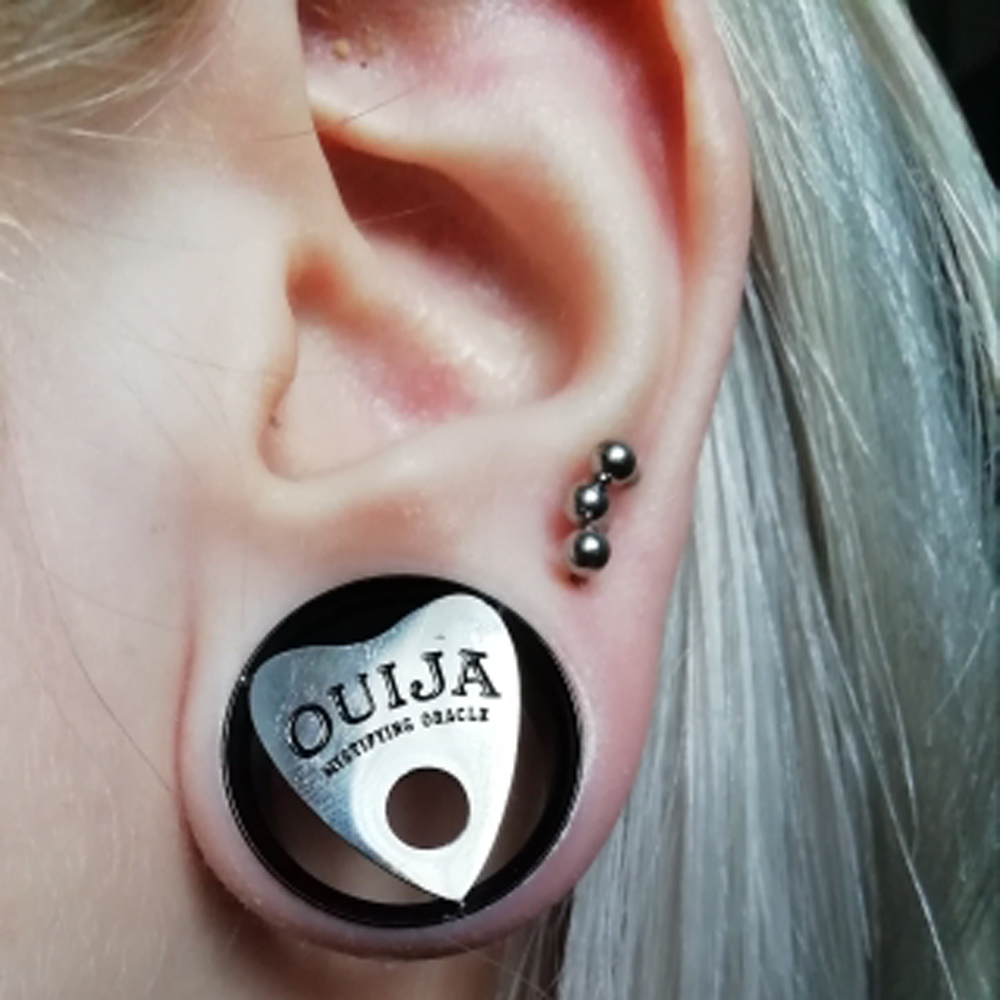 Sold as Pairs Inspiration Dezigns Galaxy Cross Single Flared Plugs