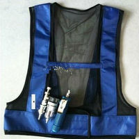 Welding Steel Vortex Tube Air Conditioner Waistcoat Air Compressed Cooling Vest