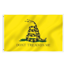 free  shipping xvggdg 3x5 Feet Durable polyester printing Gadsden flag snake dont tread on me decorative