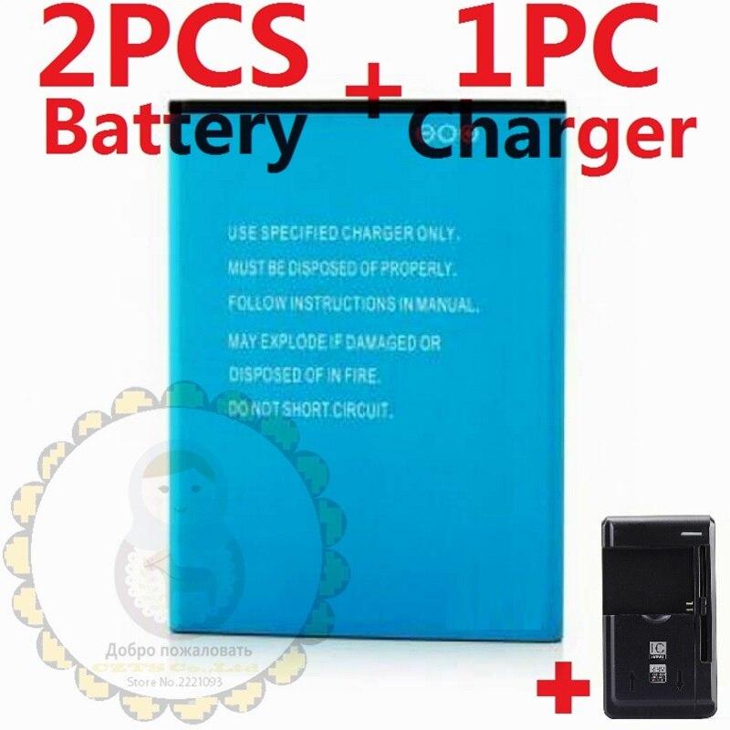 imágenes para 1 UNID Cargador Universal + 2 UNIDS Batería para Elephone P3000 P3000s P3000 3150 mAh Batería Batería Del Teléfono Móvil + caja de cartón de embalaje