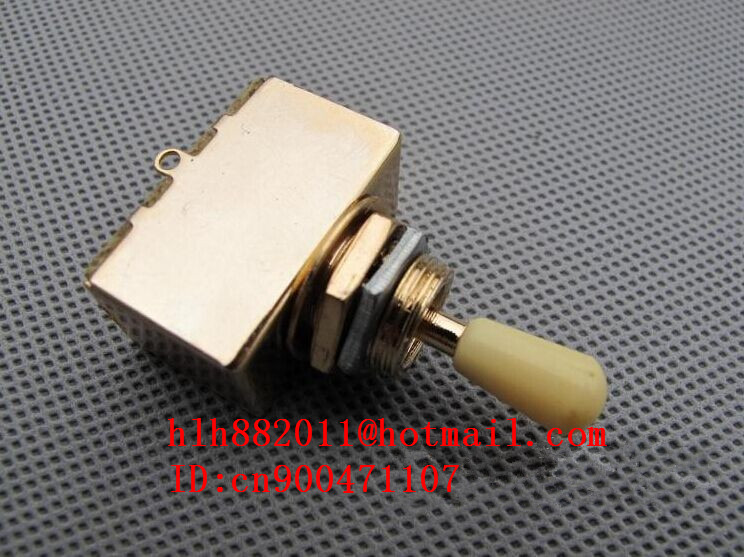 free shipping new electric guitar accessories electric guitar three gears switch in gold 8237