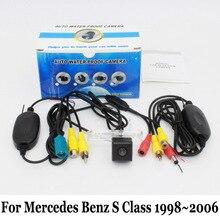 Автомобильная Камера Заднего вида/Для Mercedes Benz S Class W220 1998 ~ 2006/проводной Или Беспроводной HD Широкоугольный Объектив/CCD Ночного Видения камера