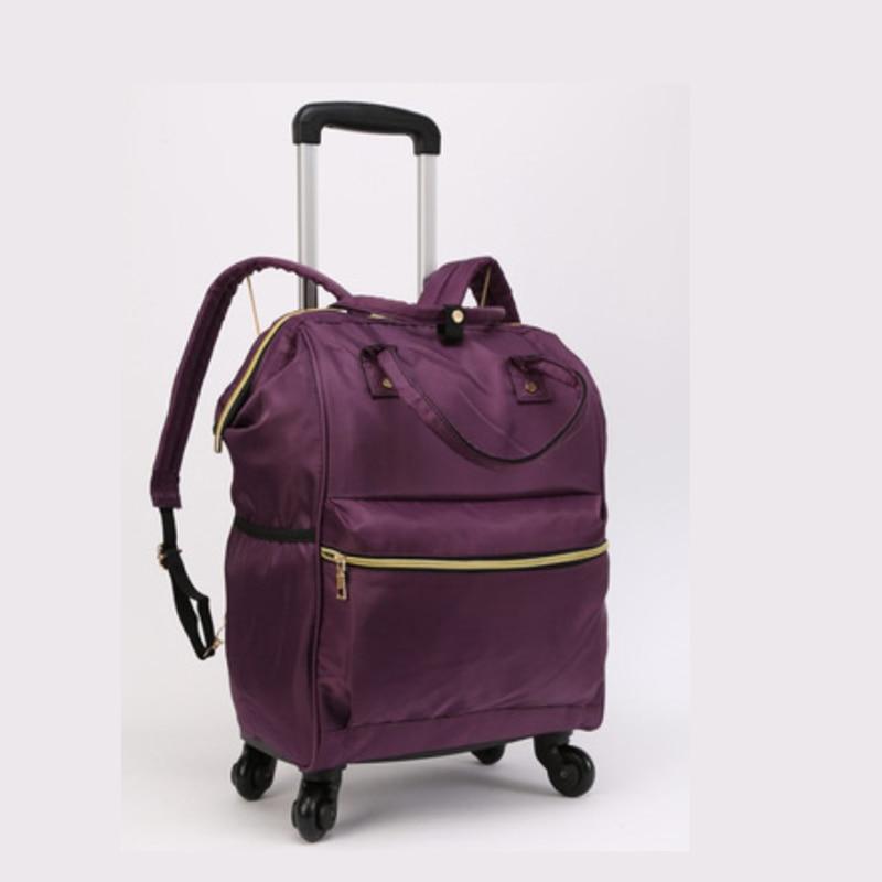"""Bagaj ve Çantalar'ten Seyahat Çantaları'de SEYAHAT MASALı 18 """"inç el bagaj seyahat çantası arabası haddeleme sırt çantası ile tekerlekler'da  Grup 1"""