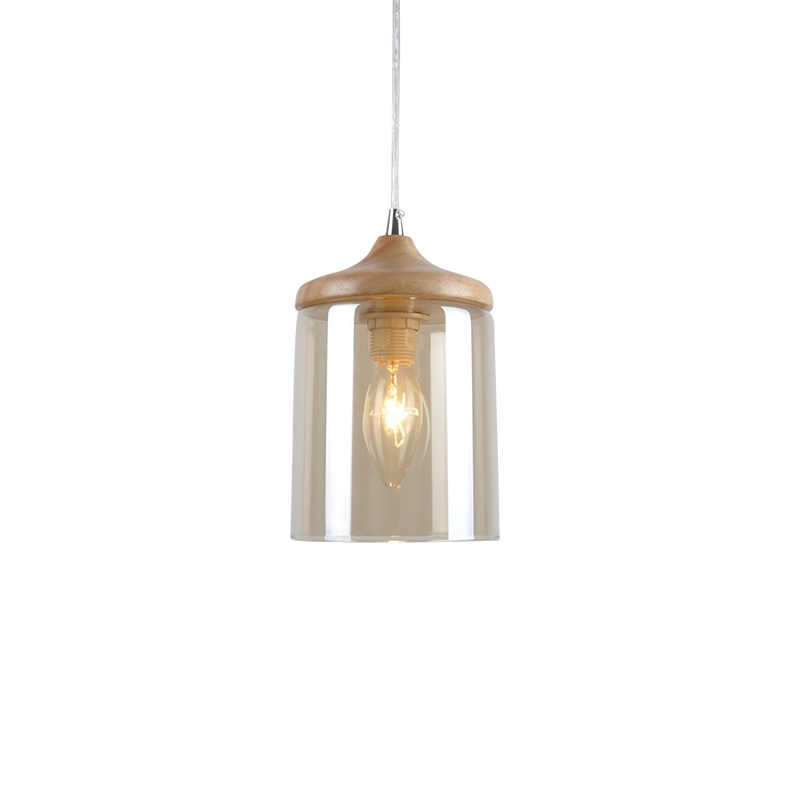 GZMJ Country Simple Glass Lampshade Wood Pendant Lights Hang Lamps for Home Lighting Dinning Room Aisle Bar Luminaire Suspendu плед luxberry плед imperio 293 цвет белый темно серый 130х170 см