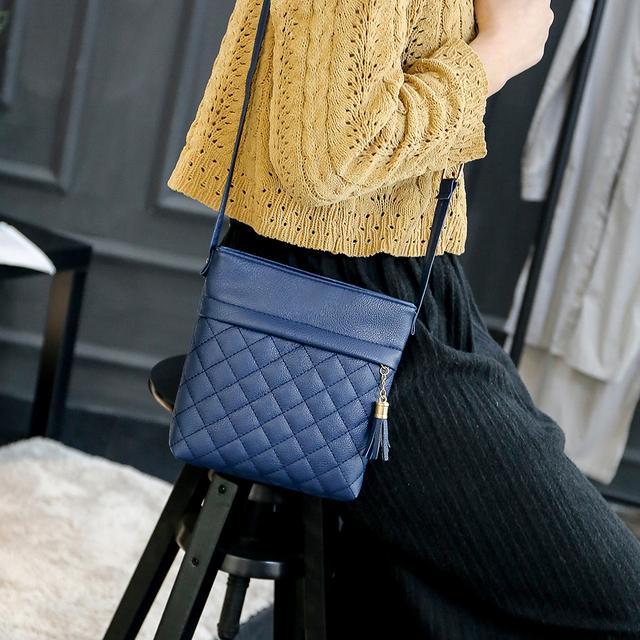 Fashion PU  Women Bag Famous Brands Women Leather Handbag Tassel Women Messenger Bags Shoulder Crossbody Bag Bolsa Feminina