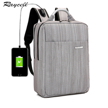 USB Charge Men Backpack 15.6 inch Laptop Backpacks Mn Male Business Computer Bags Daypack Women Travel Shoulders Student Bag