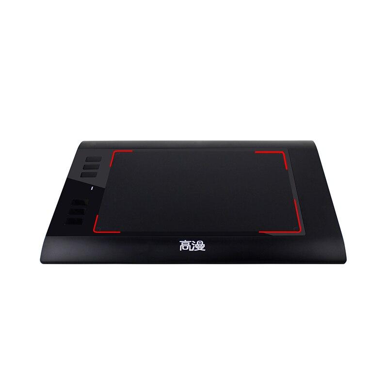 Promocja Czarny 8x5 calowy Tablet cyfrowy GAOMON 860T Artysta Tablet - Peryferia komputerowe - Zdjęcie 2