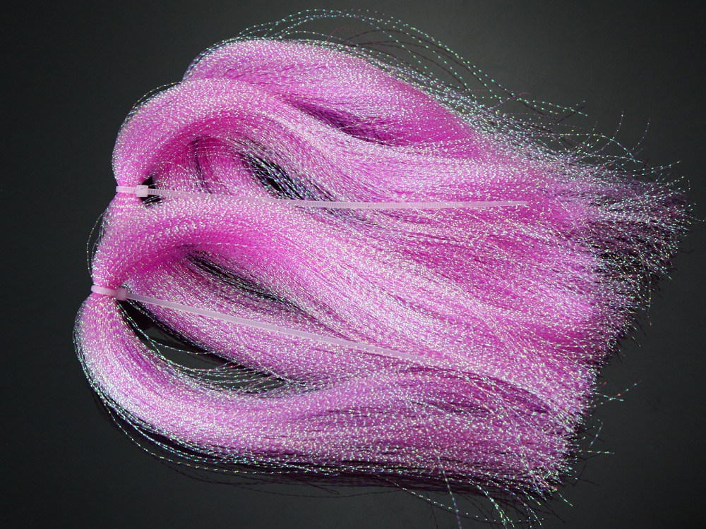 DYED PEARL FLASHABOU Fly Tying lot available