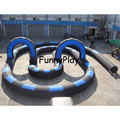 free air ship to door,210D oxford Go Karts Inflatable Race Track inflatable Go karts Race Track for fun/go karts for sale