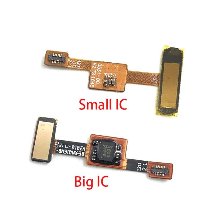 JIARUILA Fingerprint Flex Cable For Xiaomi Mi 6 Mi6 Back Home Button Fingerprint Sensor Flex Cable Repair Parts