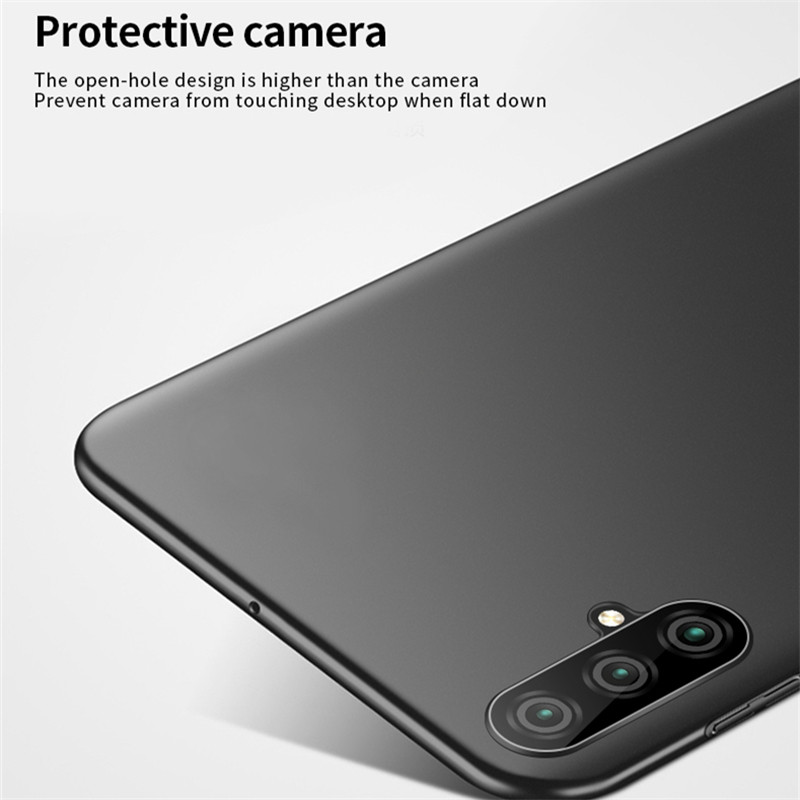 Huawei Nova 5 Pro Case Silm Shockproof Cover Luxury Ultra Thin Smooth Hard PC Phone Case Huawei Nova 5 Pro Back Cover Nova 5 Pro in Fitted Cases from Cellphones Telecommunications