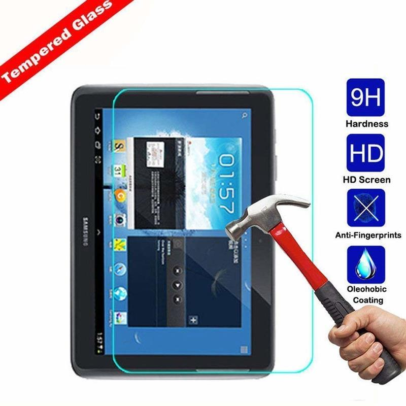 Tempered Glass For Samsung Galaxy Tab 2 10.1inch 2012 Screen Protector For Samsung GT-P5100 P5110 P5113 P7500 P7510 Screen Glass premium real tempered glass screen protector for samsung galaxy s5