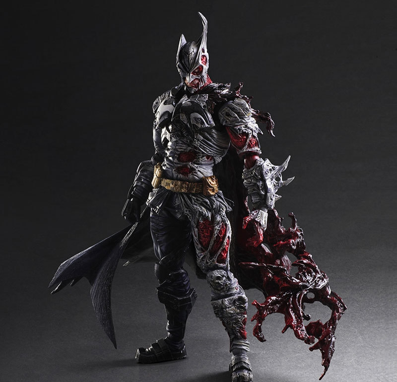 Gogues Gallery Two Face Batman Figure Batman Play Arts Kai Play Art KAI PVC Action Figure Bat Man Bruce Wayne 26cm Doll Toy the avengers infinity war batman arkham knight play arts kai 27cm bruce wayne dc comics pvc action figure model toys l1060