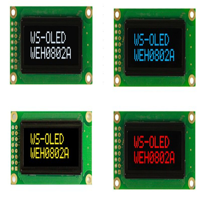 все цены на WEH000802 Winstar low power 8x2 (8 Characters x 2 lines) OLED to replace your existing STN character display or new and original онлайн