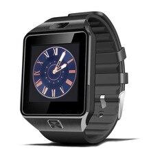 Smartwatch DZ09 para Apple Teléfono Android Hombres del Reloj Inteligente Bluetooth Reproductor de Música Soporte de SIM/TF Tarjeta de Pulsera 2017 diseño