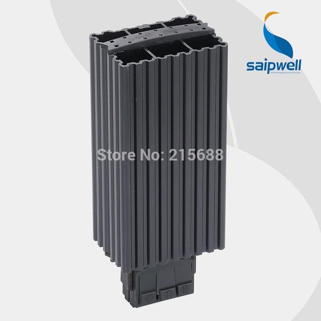 saipwell 45 watt din schiene aluminium ruhig hochfrequente elektrische block heizung f r schrank. Black Bedroom Furniture Sets. Home Design Ideas