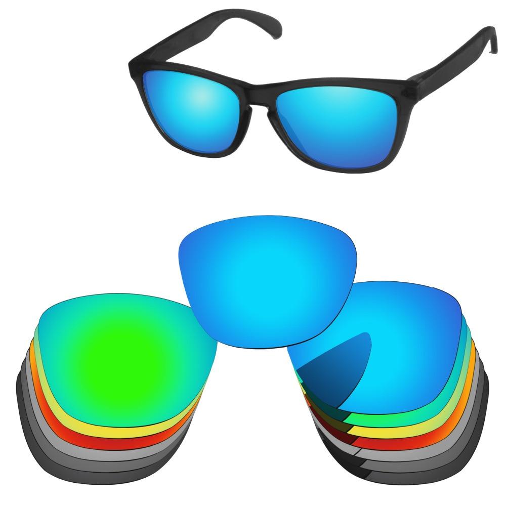 PapaViva POLARIZÁLT Pótlencsék 100% UVA- és UVB-védelemű autentikus békabőr napszemüvegekhez - Több lehetőség