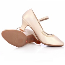 Modern Shoes Sports Ballroom Dancing Women Dance GB Adult Dermal Soft Bottom Square Woman Sneaker Rubber Sole