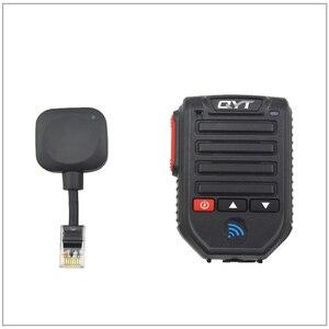 Image 3 - Baofeng BT 89 Handheld Wireless Bluetooth Microphone Speaker for QYT KT series Mobile Radio 10 Meters Receive Range Microphone