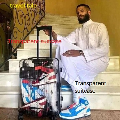 travel tale The New Latest fashion Transparent suitcase 20/22/24/26 inch size PC Rolling Luggage Spinner brand travel tale new fashion contracted rolling luggage spinner brand travel suitcase 20 22 24 26