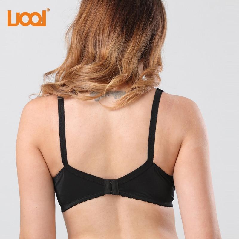 96eaca49033 Plus Size Lingerie Bras For Women Unlined Full Figure Support Large Size  Wirefree Minimizer Bra Lace Bralette Brasier Mujer-in Bras from Underwear  ...