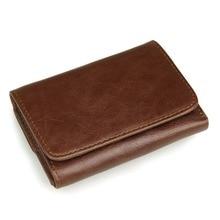 J.M.D RFID Blocking Men Wallets Genuine Leather Coin Purses For Business Card Holder 8106C
