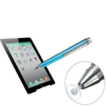 El más nuevo bolígrafo capacitivo fino de punta fina redonda, lápiz táctil transparente conductivo para iPhone iPad Mini 2 3 4 Air 2