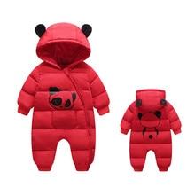 Macacão infantil para meninas, roupas de bebê recém nascido, macacão de algodão para crianças pequenas, estilo de inverno para 9m 12m 24m
