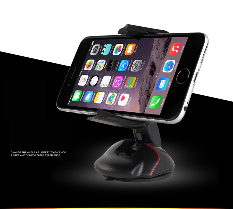 Car Car-styling Office Desk Phone Holder Universal 360 Windshield Mount Mouse Stand For Elephone P9000 Edge S3 Lite S7 Mini Z1