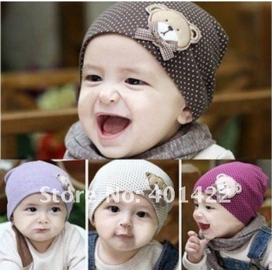 $15 off per $150 order new style wholesale free shipping fashion  baby hat baby bear hat baby cap infant hat infant cap headress
