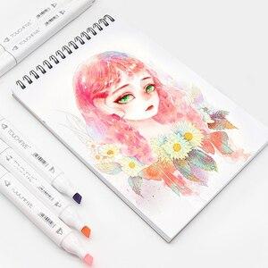 Image 3 - Набор маркеров TouchFIVE, 30/40/60/80/168 цветов, двусторонние скетч маркеры, кисть для манги, школьные, офисные ручки, дизайнерские принадлежности