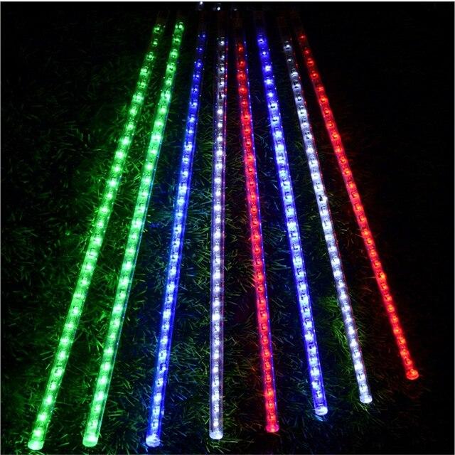 LED Weihnachtsbeleuchtung licht, baum anhänger führte meteorschlauch ...