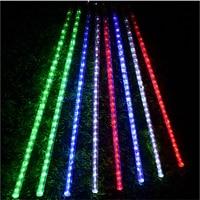 LED Christmas Light Tree Pendant Led Meteor Tube 8pcs 50cm Tubes Set With Adapter 85 265Vac