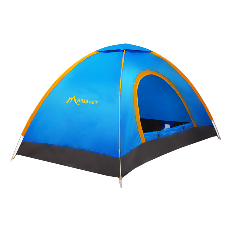 HIMAGET 2 Person Outdoor Ultralight Camping traveling Automatic Tent Quick open tent кольцо персиянка унакит
