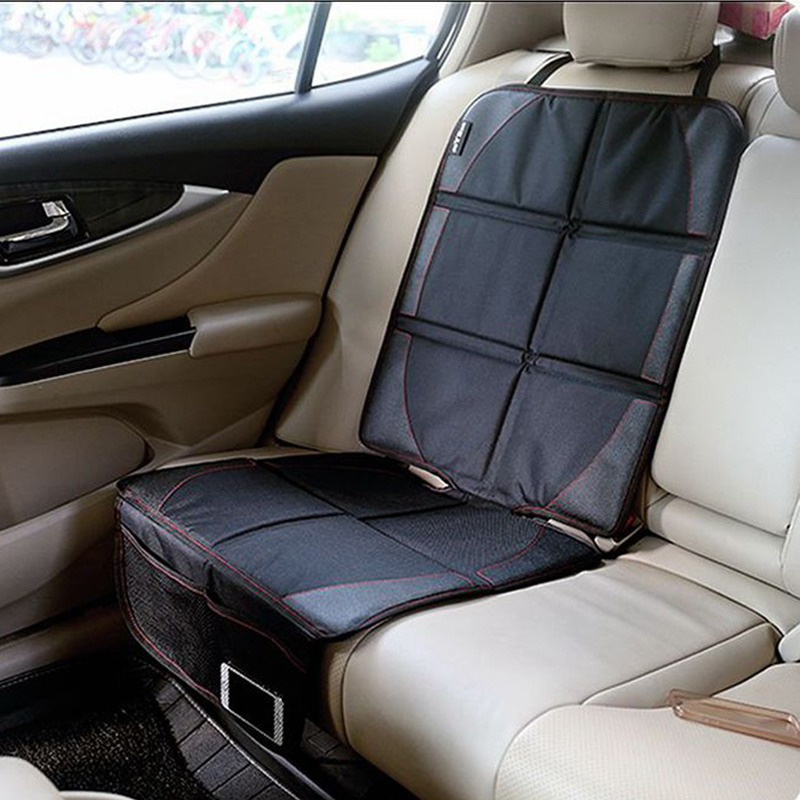 LUNDA Luxury leather <font><b>Car</b></font> <font><b>Seat</b></font> Protector Child or baby <font><b>car</b></font> <font><b>seat</b></font> cover Easy Clean <font><b>Seat</b></font> Protector Safety Anti Slip Universal Black