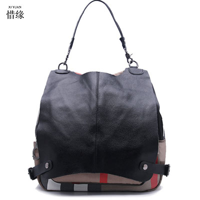 XI YUAN Women Genuine Leather Bag Woman Bag Cow Leather Real Leather Backpacks Solid Girl Students School Bag Women Casual Style 2016 genuine leather woman backpacks fashion cowhide split leather backpacks for lady solid high quality leather woman bag
