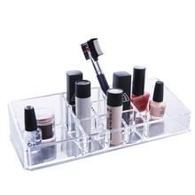 Crystal Acrylic Cosmetic Organizer Makeup Holder Lipstick Holder Cosmetic Storage Box Acrylic Case Stand Rack Holder Organizer
