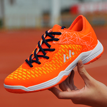 Unisex Badminton shoes  Men Professional Ball shoes Kids Training Sneakers Women Breathable Leisure Sports Boots  Big Size 35-45 li ning women s professional cushion badminton training shoes breathable sneakers lining double jacquard sports shoes aytm078