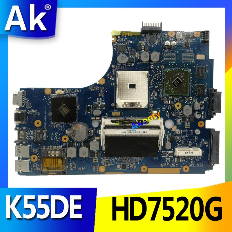 AK For Asus K55DR K55DE Motherboard with HD7520G Discrete Video CardAK For Asus K55DR K55DE Motherboard with HD7520G Discrete Video Card