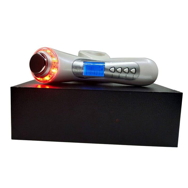 Galvanic Current Spa Ultrasonic Photon IPL Led Skin Rejuvenation Tender Skin Care Vibration Face Eye Beauty Instrument