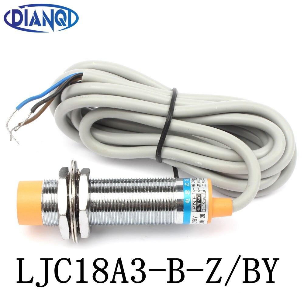 Емкость DIANQI, датчик приближения, внешний диаметр 18 мм, расстояние обнаружения 10 мм, постоянный ток 6-36 в, PNP 3 провода, переключатель без датчик...