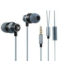 Original EINSEAR T2 In Ear Earphone 3 5MM Stereo Dynamic Earbuds Aerospace Metal Earphone For IPhone